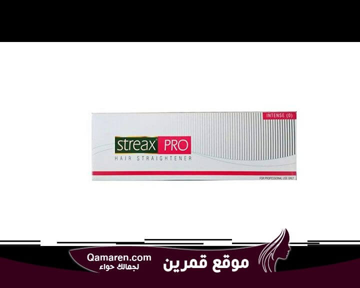 Streaks Pro Hair straightener cream intense