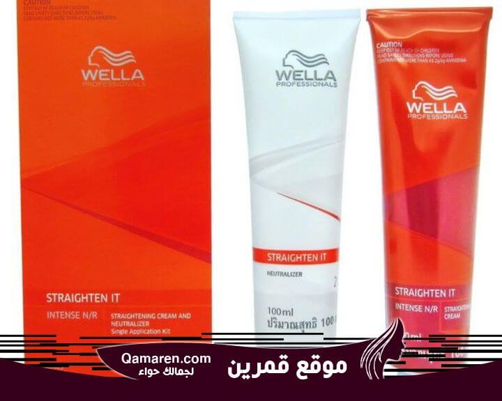 Wella Straighten It Intense For Very Curly Hair