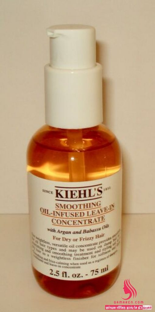 Kiehl's Smoothing Oil-Infused Leave-In Concentrate زيت للشعر التالف