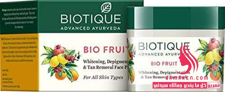 Biotique Bio Fruit Whitening & Depigmentation Face Pack