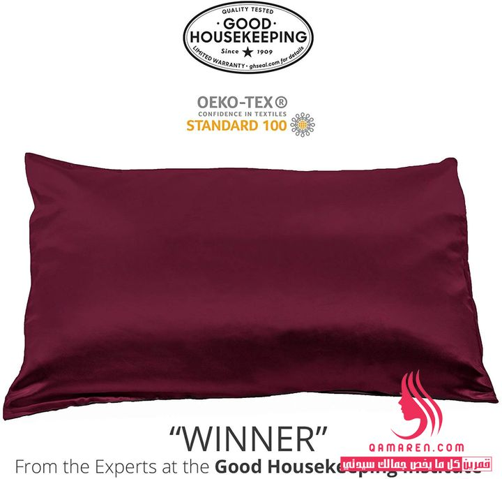 Fishers Finery 100% Pure Mulberry Silk Pillowcase